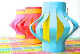 How To Make Paper Light Lanterns - how to make easy paper lanterns japan inner child