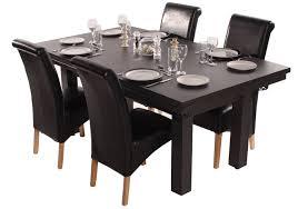 the amalfi black pool dining table red cloth amazon co uk