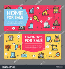 building house home apartment sale flyer stock vector 722816485
