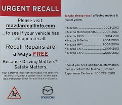 nissan canada takata airbag recall be safe get those takata airbag recalls completed don u0027t ignore