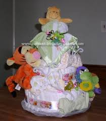 coolest winnie pooh baby shower cake shower cakes diapers