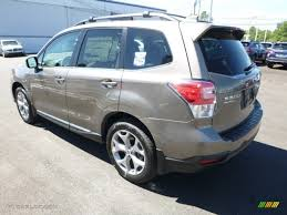brown subaru forester 2017 sepia bronze metallic subaru forester 2 5i touring 115370936