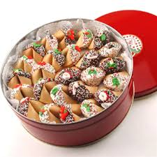 fortune cookies tin of 50