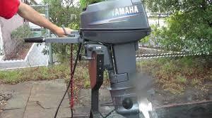 2006 yamaha 25hp 2 stroke short shaft outboard motor youtube