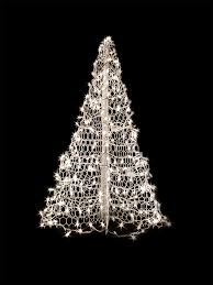 amazon com 5 u0027 white wire crab pot christmas tree with 280 clear