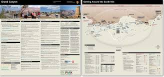 Utah State Parks Map by Maps Grand Canyon National Park U S National Park Service
