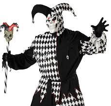 Court Jester Halloween Costume Evil Jester Halloween Costume Evil Jester Size Men U0027s Costume