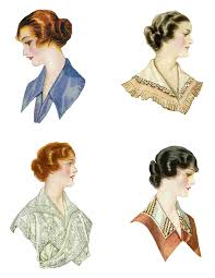 women u0027s hairstyles 1915 winter fashion 1917 pinterest