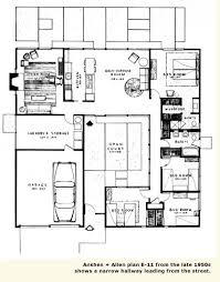 e home plans plans for the e 11 anshen allen made changes to the plan and
