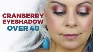 hair color for over 40 with blie eyes holiday makeup tutorial for women over 40 youtube
