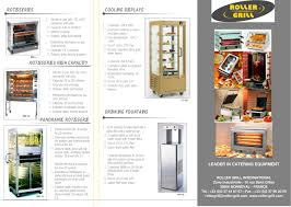 fontaine a eau design flyer pro roller grill pdf catalogues documentation brochures