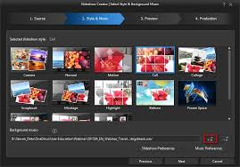 create a slideshow with your travel photos cyberlink