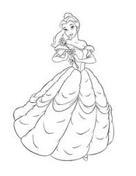 disney princess coloring pages beauty and the beast coloring