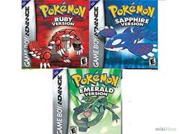 Pokemon Emerald Pretty Chair Choose Between Pokémon Ruby Sapphire And Emerald Emeralds