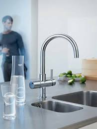 grohe kitchen faucets a grohe kitchen faucet brightens even the best gourmet kitchens