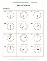 ideas about free printable telling time worksheets bridal catalog