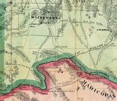 Map Of Prescott Arizona by White Tank Mountains History Of Waddell Arizona