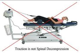 what is a traction table what is non surgical spinal decompression