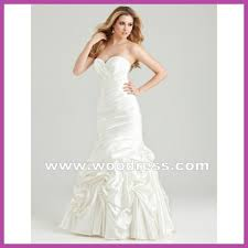 glamorous fishtail wedding dresses strapless sweetheart neckline