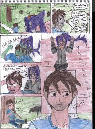 minecraft manga page 5 mob talker series by kgelitez on deviantart