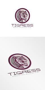 tigress authentic thai restaurant an logo templates creative