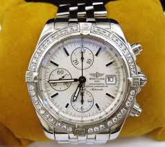 bentley breitling diamond breitling chronomat evolution diamond bezel men u0027s watch stainless
