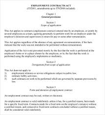 service contract template 10 free word pdf documents