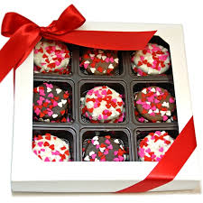 boxes for chocolate covered oreos heart sprinkles chocolate dipped oreos box covenant cookies