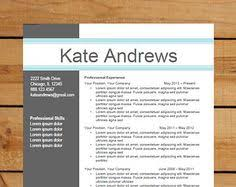 Sample Cv Resume Instant Download Resume Template Cv Template For Ms Word