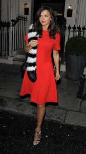 mecklenburgh leaving the haymarket hotel after a lfw event in london