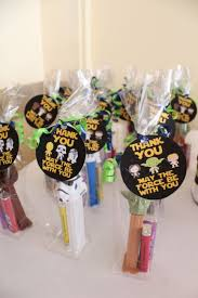 wars party favors wars baby shower favor darth vader party