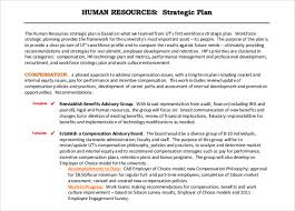 Strategic Planning Resume Hr Proposal Template Page Of 13 Hr Strategy Outlines
