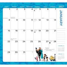 minion desk calendar 2017 despicable me 2017 planner calendars com
