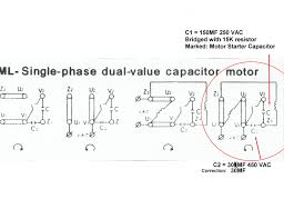 single phase capacitor start run motor wiring diagram webtor me