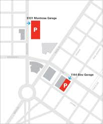 new underground parking lot opens at mfah while an old one closes a map of the new parking arrangements for the museum of fine arts houston
