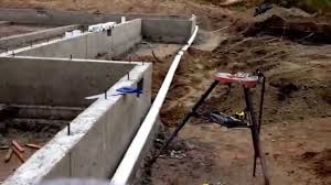 how to build a concrete block house building a new house drain piping installation around foundation