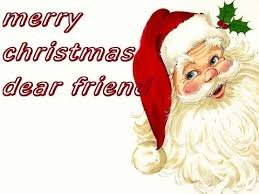 merry dear friend wishes greeting cards whatsapp
