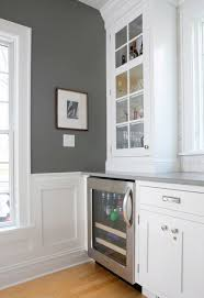 charcoal gray paint color contemporary kitchen benjamin