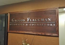 brushed aluminum letters for a law office sign the richness of