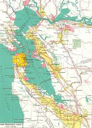 America Map San Francisco by