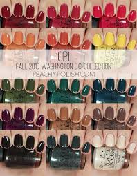 opi hair color opi fall 2016 washington d c collection swatches review
