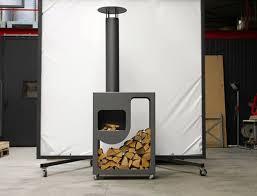 Outdoor Metal Fireplaces - 7 best outdoor fireplace images on pinterest outdoor fireplaces