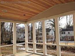 Beadboard Porch Ceiling by Homewood In Kirkwood U2013 Vaulted Porch Ceiling U0026 Pvc Framing Dh