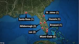 St Johns Florida Map by One Case Of Zika Virus Confirmed In St Johns County