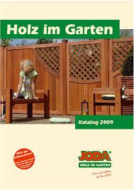 joda holz im garten 2009 by gk fachmarkt issuu