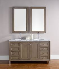 Bathroom Vanities Chicago Chicago 60 Martin White Washed Walnut Transitional