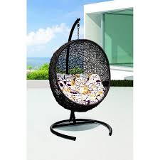 patio swing chair product display omier rattan outdoor