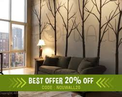 modern wall decals for living room wall decal winter tree wall decal living room bedroom wall