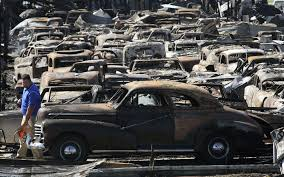 vintage peugeot cars dozens of antique vehicles destroyed by overnight fire in staunton