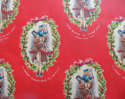 vintage disney gift wrap little mermaid wrapping paper new old